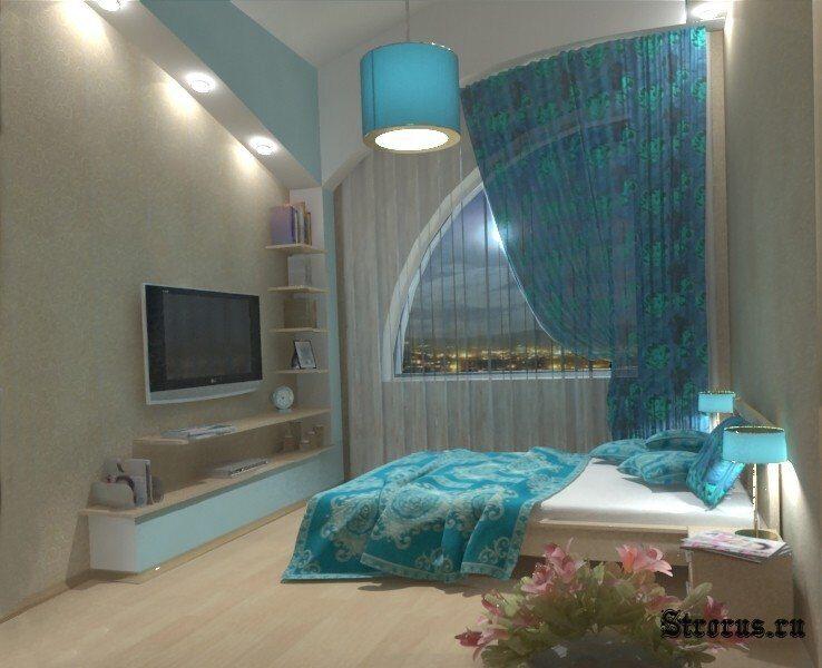 Дизайн комнаты в хрущёвке фото